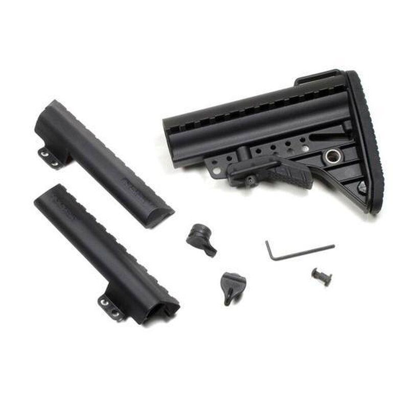 Vltor AR-15 IMOD Improved Modstock Mil-Spec Standard Black Battery Storage Butt Pad Black AIBMSB