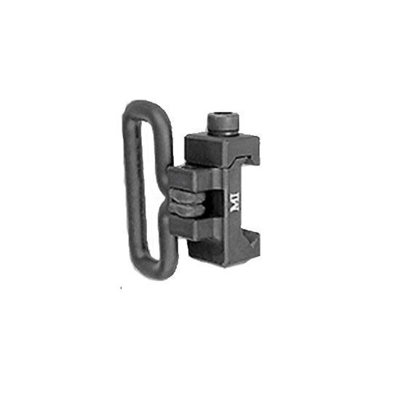 Midwest Industries AR-15 Front Sling Adapter Picatinny Aluminum Black MCTAR-06