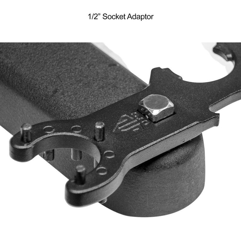 UTG AR-15 and AR-10 Armorer's Multi Function Combo Wrench TL-ARWR01