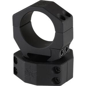 Seekins Precision 34mm Scope Rings X-High Matte Black 0010630010