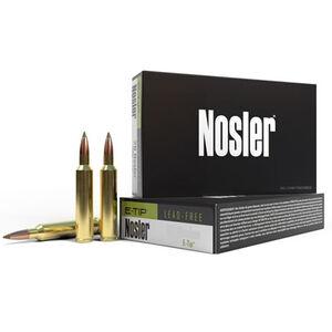 Nosler E-Tip .22 Nosler Ammunition 20 Rounds Lead Free E-Tip 55 Grain 3300
