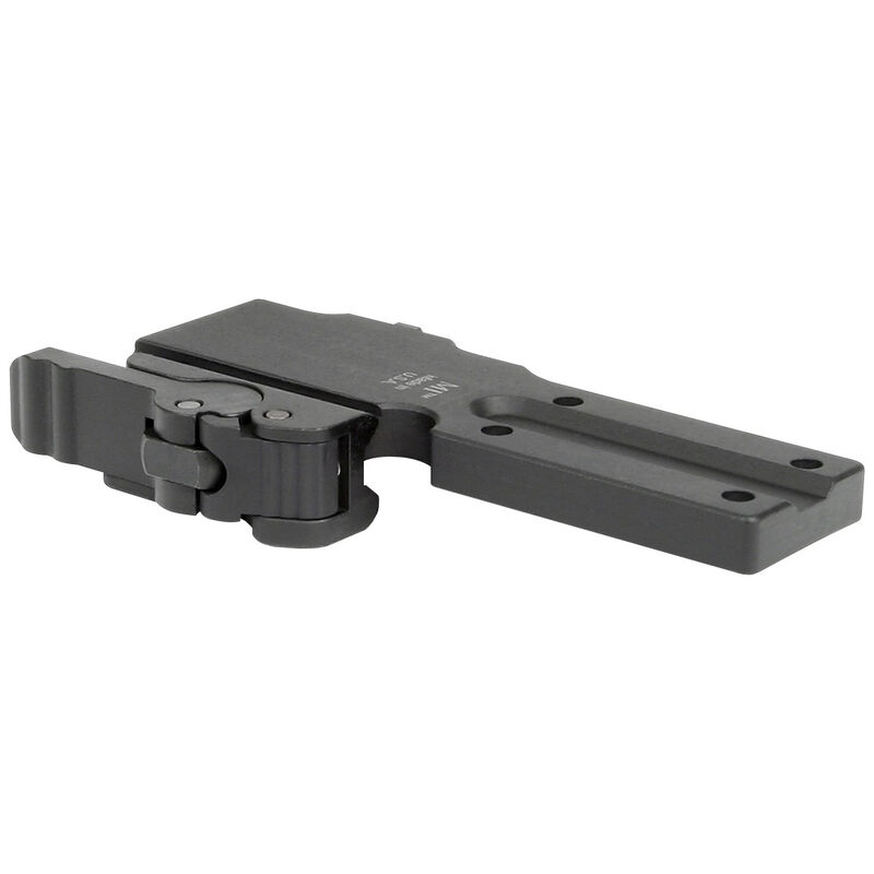 Midwest Industries Quick Detach Trijicon MRO Scope Mount Low Co-Witness 6061 Aluminum Hard Coat Anodized Matte