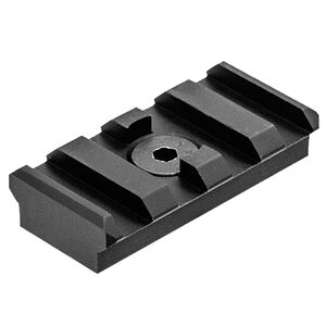 UTG PRO M-LOK® 4-Slot Picatinny Rail Section, Black