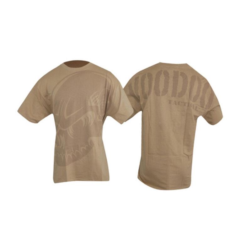 Voodoo Tactical Men's Short Sleeve Subdued Skull Tee Shirt Cotton XL Gray