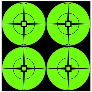 "Birchwood Casey Self Adhesive 3"" Target Spots Atomic Green 40 Pack 33933"