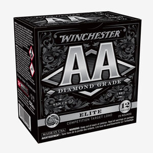 "Winchester AA Diamond Grade 12 Gauge Ammunition #7 Plated Lead 1-1/8 oz  2-3/4"" Shell  1300 fps"