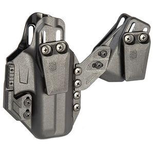 BLACKHAWK! Stache IWB Premium Kit fits GLOCK 17/22/31/47 and CZ P-10 Ambidextrous Holster Polymer Black