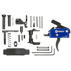 Midwest Industries AR-15 Enhanced Single Stage Drop In Trigger System 3.5lbs Kit Blue