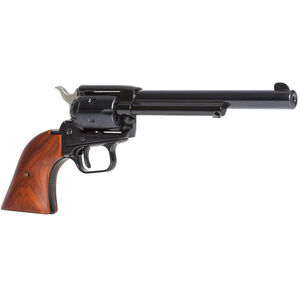 "Heritage Manufacturing Rough Rider Revolver .22 Long Rifle 6.5"" Barrel 6 Rounds Cocobolo Grips Blue Finish"
