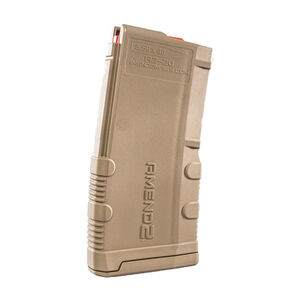 Amend2 Mod-2 AR-15 20 Round Magazine .223 Remington/5.56 NATO Anti-tilt Super Follower Stainless Steel Spring Polymer Flat Dark Earth