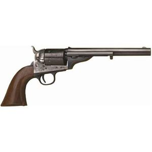"Cimarron 1872 Open Top Single Action Revolver .45 Long Colt 7.5"" Barrel 6 Rounds Fixed Sights Case Hardened Frame One piece Walnut Grip CA916"