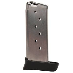 SIG Sauer P938 Magazine 9mm Luger 7 Rounds with Finger Extension Stainless Steel MAG-938-9-7