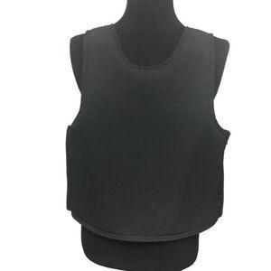 Premier Body Armor Ballistic Discreet Executive Vest Large NIJ Certified Level IIIA Black