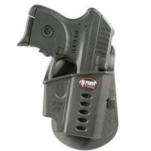 Fobus Holster Kel-Tec -32 Second Gen/Ruger LCP w/Crimson Trace Laser Right Hand Paddle Attachment Polymer Black