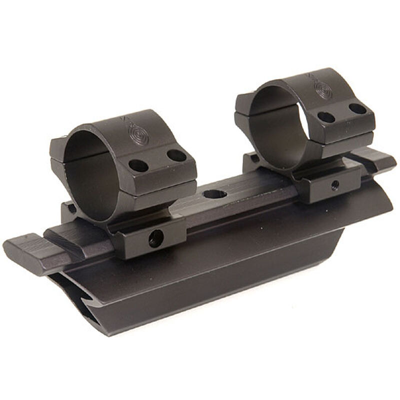 Kwik-Site AR-15 See Through Carry Handle Scope Mount and Rings KSNM16