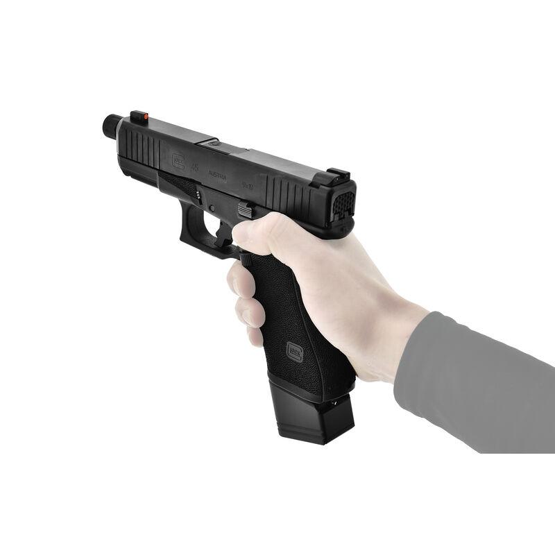 UTG PRO +5 Base Pad for Glock 17/34, Matte Black Aluminum