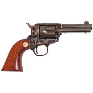 "Cimarron Model P Jr Revolver 38 Special 3.5"" Barrel 6 Rounds Walnut Grip Blued"