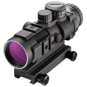 Burris AR-332 AR-15 Fixed 3x32mm Prism Sight Ballistic 3x Reticle CR2032 Battery .50 MOA Adjustments Aluminum Housing Matte Black Finish