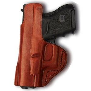 Tagua Gun Leather GLOCK 43 Inside Waistband Holster Leather Right Hand Tan IPH-357