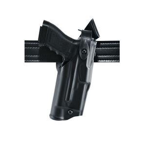 Safariland Model 6360 ALS/SLS Mid-Ride Duty Belt Holster Right Hand Fits Springfield XDM 40 with Light SafariLaminate Hi-Gloss Black