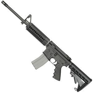 "Rock River LAR-15 Tactical CAR A4 AR-15 Semi Auto Rifle 5.56 NATO 16"" Chrome Lined Barrel 30 Rounds with Delta Quad Rail Black"