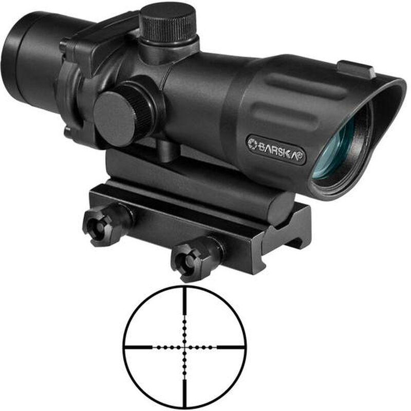 Barska 4x32 AR-15/M-16 Sight Mil-Dot Reticle Picatinny/Weaver Base Matte Black AC12268