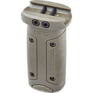 HERA USA HFG AR-15 Vertical Foregrip Picatinny Rail Mount Polymer OD Green