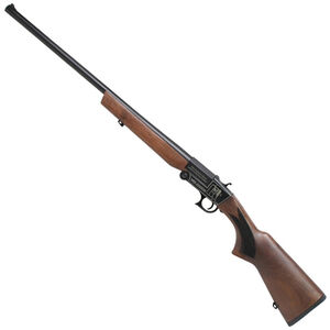 "Iver Johnson IJ700 Youth Single Shot Break Action Shotgun 20 Gauge 24"" Barrel 1 Round 3"" Chambers Walnut Stock Black Finish"
