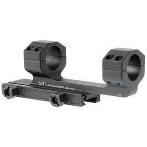 "Midwest Industries Gen2 Scope Mount with 1.4"" Offset 1"" Scope Tube Aluminum Black"