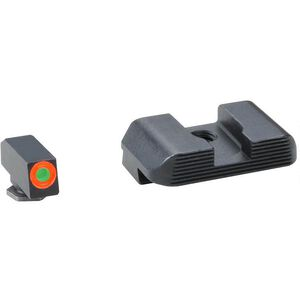 AmeriGlo Hackathorn Sights For GLOCK 43, Front And Rear Sight, Steel