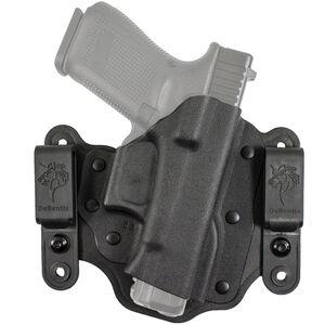 DeSantis Intruder 2.0 Holster IWB/OWB fits GLOCK 17, 19, 22, 23 and Similar Right Hand Kydex Black