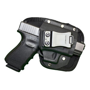 Crossfire Shooting Gear EDC Hybrid Right Handed IWB Inside the Waist Band Holster Black