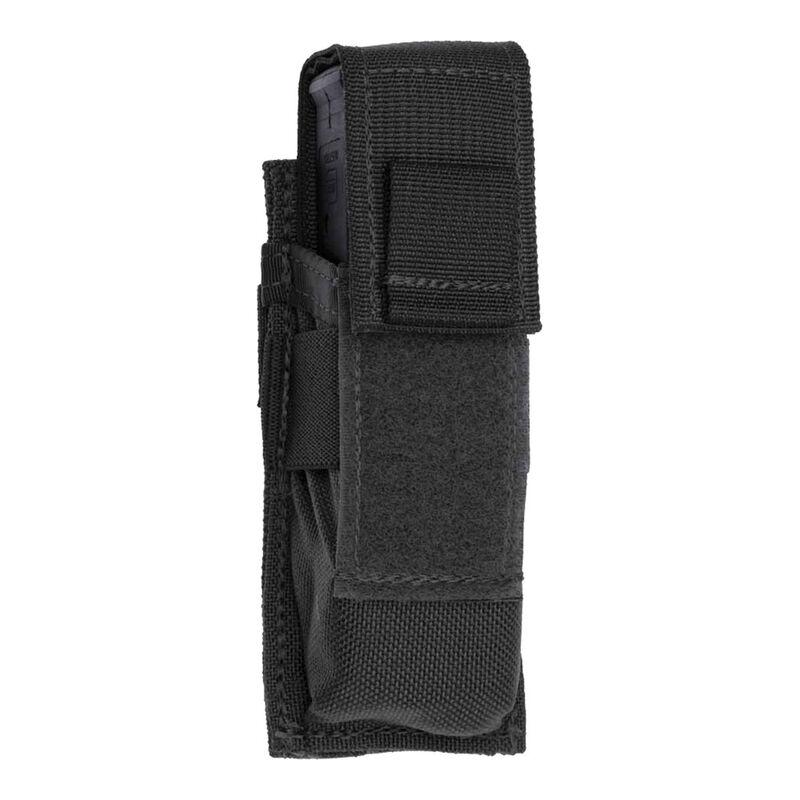 Tac Shield Single Universal Pistol Magazine MOLLE Pouch Nylon Black T3601BK