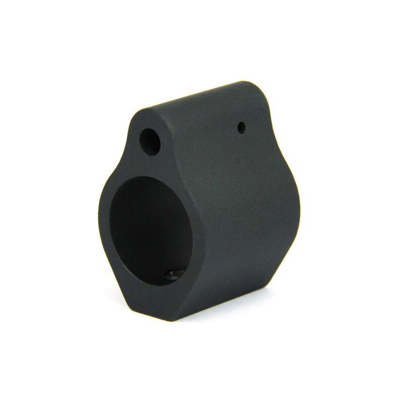 TacFire AR .750 Micro Low Profile Gas Block Aluminum Black MAR001A