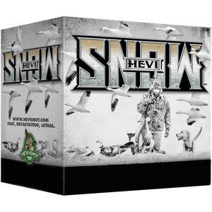 "Hevi-Shot Hevi-Snow 12 Gauge Ammunition 25 Rounds 3-1/2"" Shell #1 Steel Shot 1-3/8oz 1550fps"