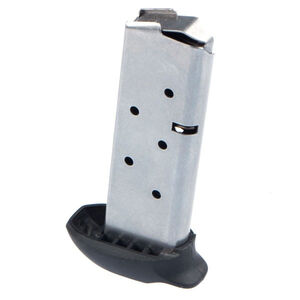 Metalform SIG Sauer P238 Magazine .380 ACP 7 Rounds With X-Grip Stainless Steel Construction Natural Finish