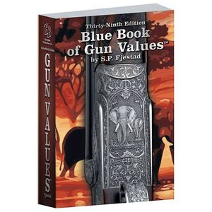 Blue Book Publications Blue Book of Gun Values 39th Edition by S.P. Fjestad 2018 Production Date