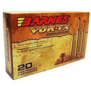 Barnes VOR-TX .338 Winchester Magnum Ammunition 20 Rounds 210 Grain TTSX BT Lead Free 2865 fps