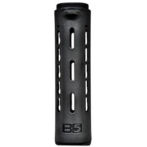 "B5 Systems AR-15 Carbine Length Drop In Handguard 7"" KeyMod Attachment Points High Impact Polymer Black HGC-001-01"