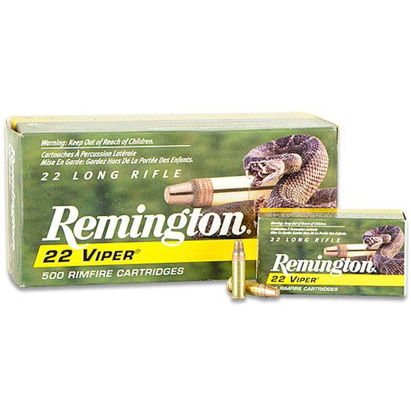 Remington 22 VIPER .22 LR Ammunition 36 Grain Truncated Cone 1280fps