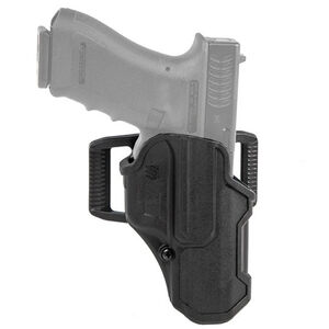 BLACKHAWK! T-Series Level 2 Compact Holster Fit SIG Sauer P320 Carry Right Hand Polymer Black