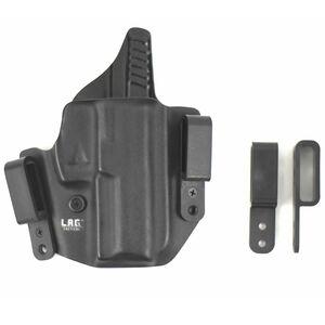 L.A.G. Tactical Defender Series OWB/IWB Holster GLOCK 26/27/33 Right Hand Kydex Black