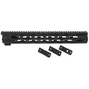"Midwest Industries SS Series AR-10 15"" Handguard Aluminum Black MI-AR10SS15-A"