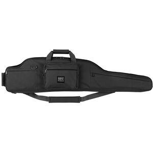 "Bulldog BDT Long Range Rifle Case 54"" Single Precision Rifle Bag Endura Black"
