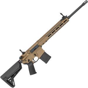 "Barrett REC7 DMR AR-15 Semi Auto Rifle 5.56 NATO 18"" Barrel 20 Round Magazine Gas Piston System Enhanced M-LOK Hand Guard 6-Position Stock Cerakote Burnt Bronze Finish"