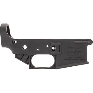 New Frontier LW-4 AR-15 Stripped Lower Receiver .223/5.56 Multi-Caliber Marked Carbon Fiber Reinforced Polymer Black
