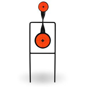 Birchwood Casey World of Targets Sharpshooter Spinner Target For .22 Rimfire Rifles/Handguns Solid Steel Construction 46221
