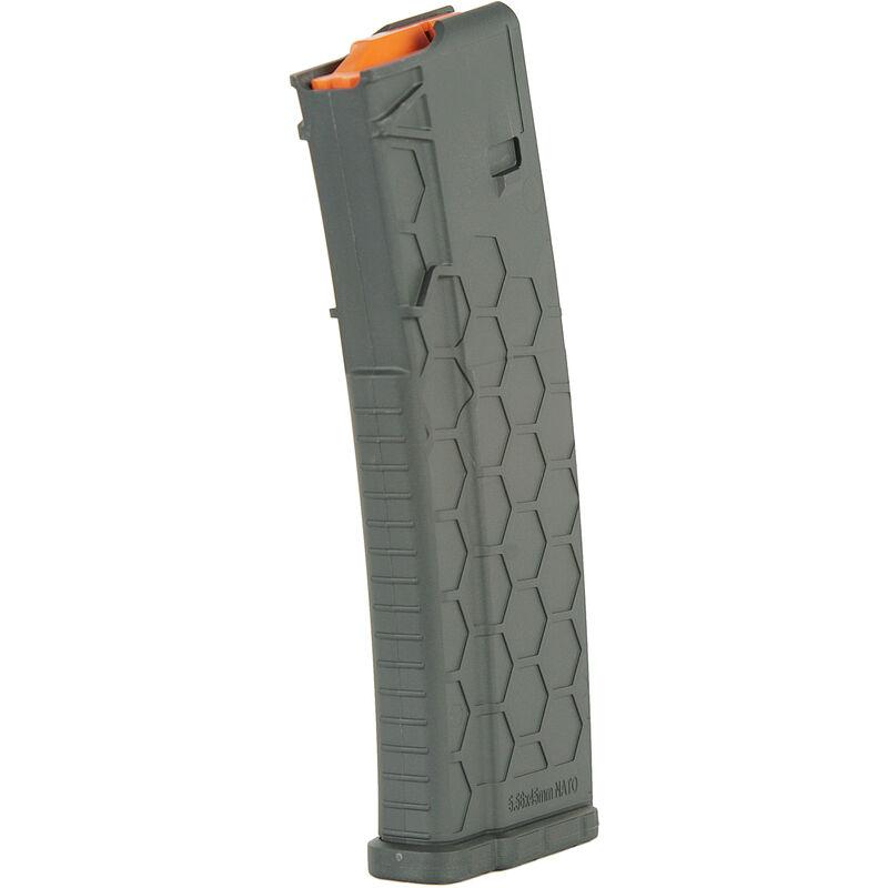 Hexmag Series 2 AR-15 10 Round Magazine/30 Round Body .223 Rem/5.56 NATO/.300 AAC Blackout PolyHex2 Advanced Composite Polymer Dark Gray
