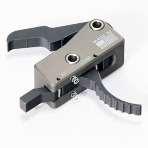 KE Arms SLT-1 Sear Link Technology AR-15 Drop In Trigger 4.5lb Single Stage Trigger Pull One Piece Housing Gray/Black