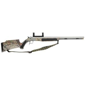 CVA Accura V2 209 Magnum .50 Caliber Break Action Camo Muzzleloader with Scope Mount